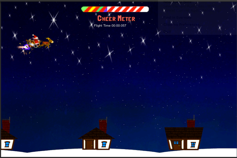 Screenshot Santa's Drop