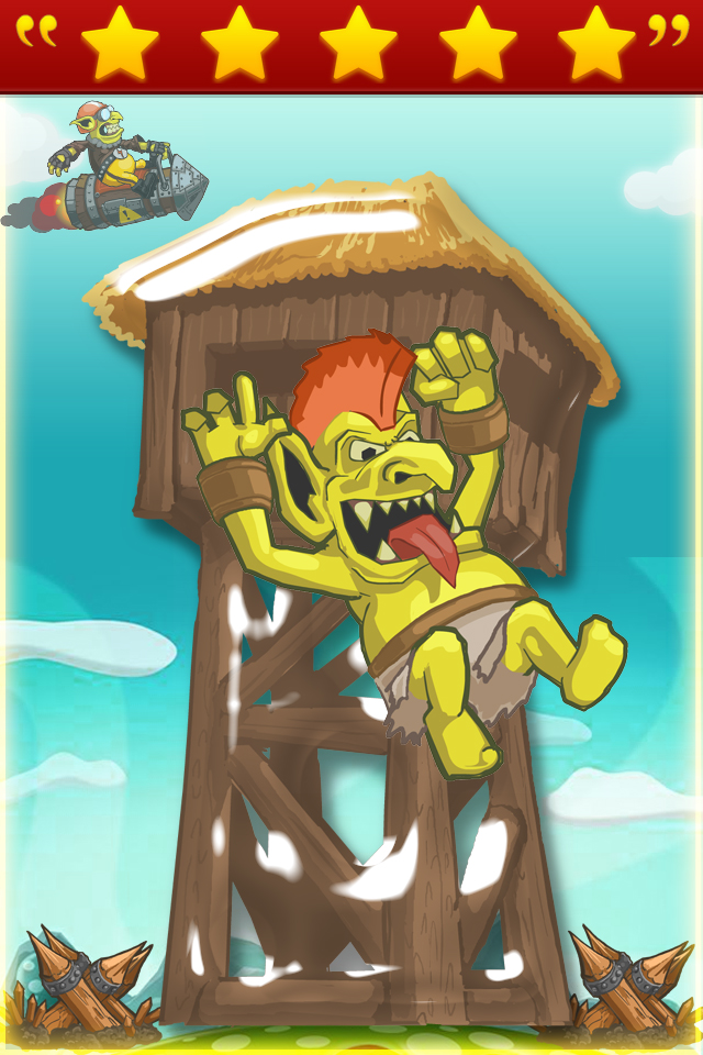 Screenshot Naughty Monster Escape
